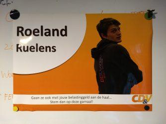 Affiche Roeland Ruelens CD&V Brecht